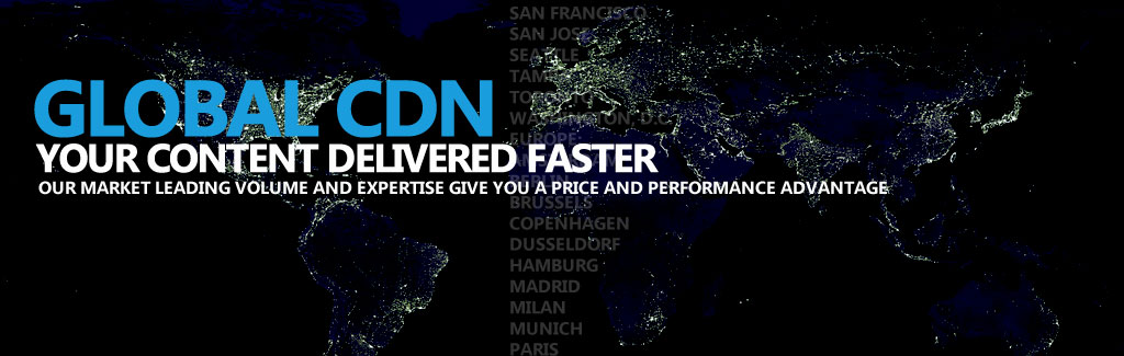 Global Content Delivery Network